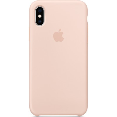 Apple Silicone Case Pink Sand (iPhone Xs)
