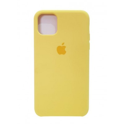 Premium Silicone Case Yellow iPhone 11