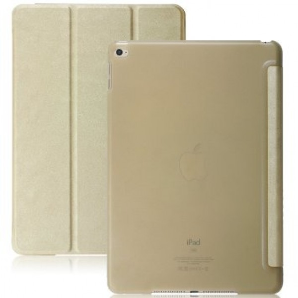 Case Book Cover Gold για Apple iPad (2017) 9.7''