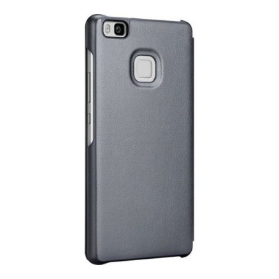 Case Flip Cover Black για Huawei Ascend P9 Lite
