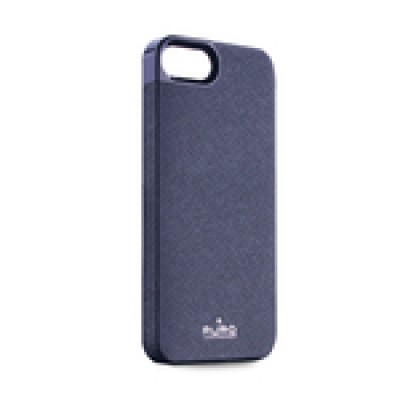 Case Puro eco leather Blue για iPhone 5