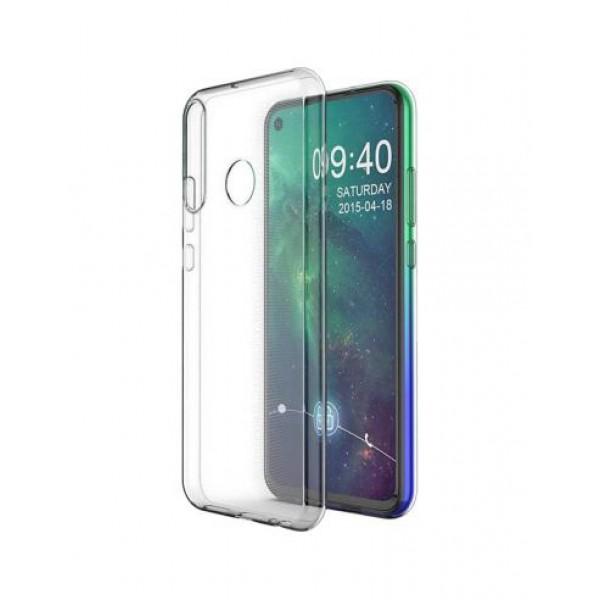 Premium Silicone Case Clear Huawei P40 Lite E