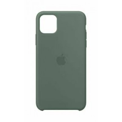 Premium Silicone Case Pine Green iPhone 12/12 Pro