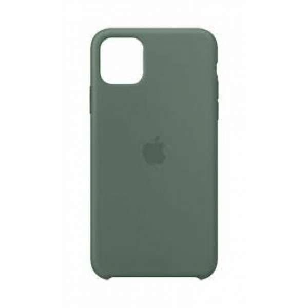 Premium Silicone Case Pine Green iPhone 12/12 Pro