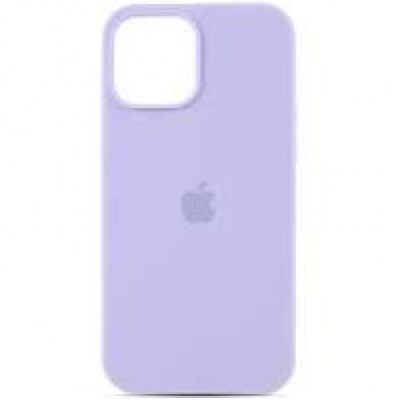 Premium Silicone Case Purple iPhone 12/12 Pro Max