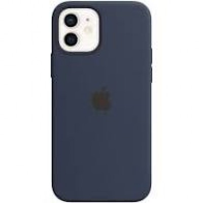 Premium Silicone Case Blue Navy iPhone 12/12 Pro