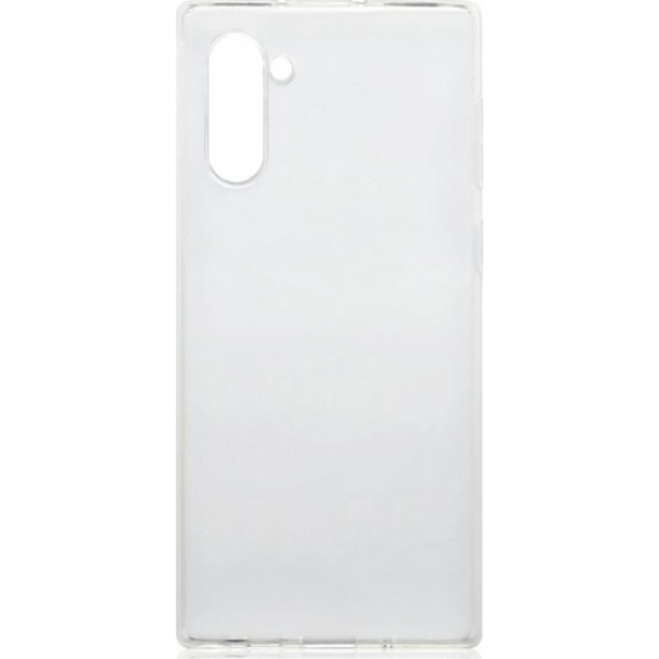 Premium Silicone Case Clear Samsung Note 10