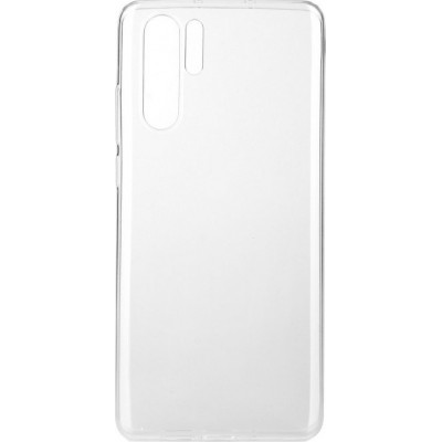 Premium Silicone Case Clear Huawei P30 Pro