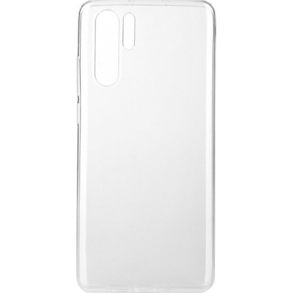 Premium Silicone Case Clear Huawei P30 Pro