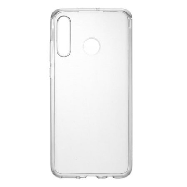 Premium Silicone Case Clear Huawei P30 lite