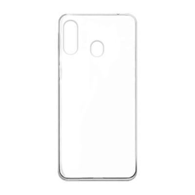 Premium Silicone Case Clear Samsung A40