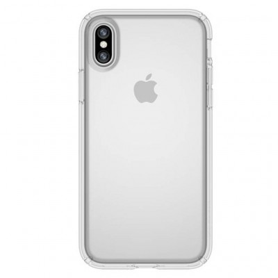 Premium Silicone Case Clear Iphone Xs Max