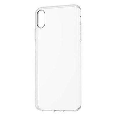 Premium Silicone Case Clear Iphone X/XS