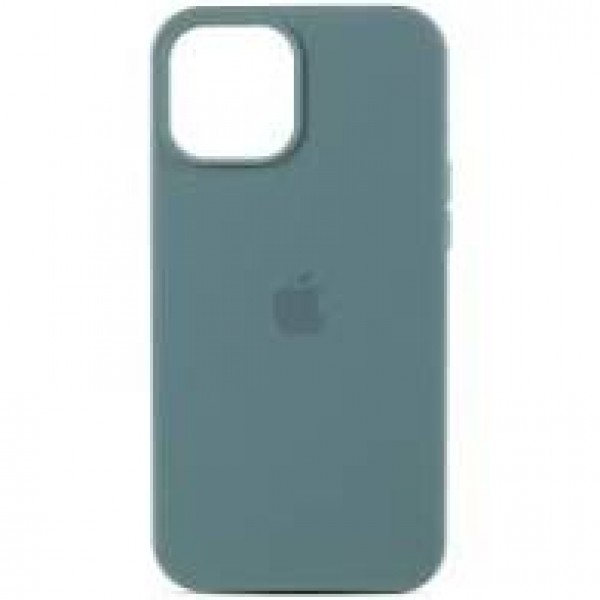 Premium Silicone Case Pine Green iPhone 12/12 Pro Max