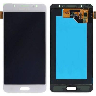 Γνήσια Οθόνη LCD & Μηχανισμός Αφής για Samsung Galaxy J5 (2016) SM- J510 F άσπρο (GH97-18792C)