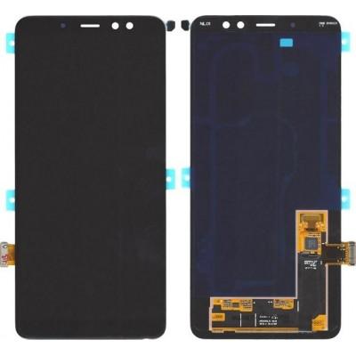 Samsung Οθόνη για Galaxy A8+ (2018) (Μαύρο)