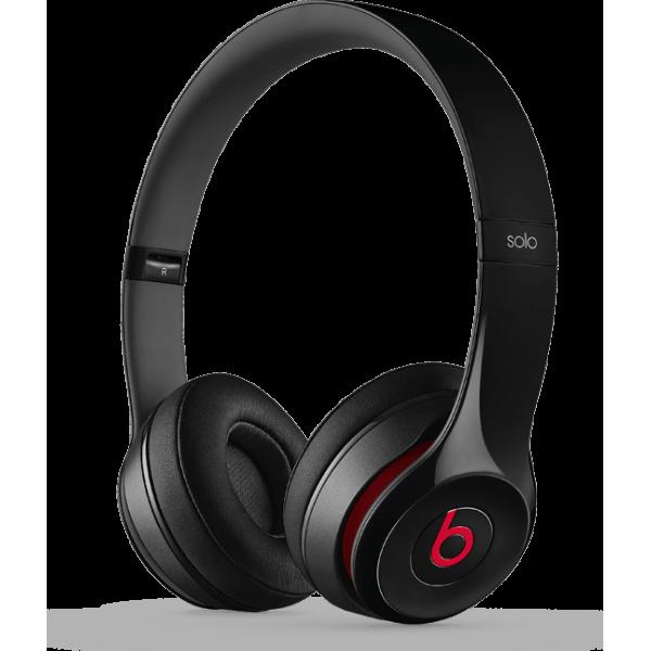 Apple Beats by Dr. Dre Solo2 On-Ear Headphones Black