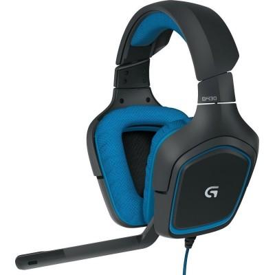 Headset USB Logitech G430 Black / Blue