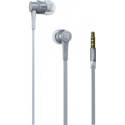 Remax Earphone  RM-535i Silver