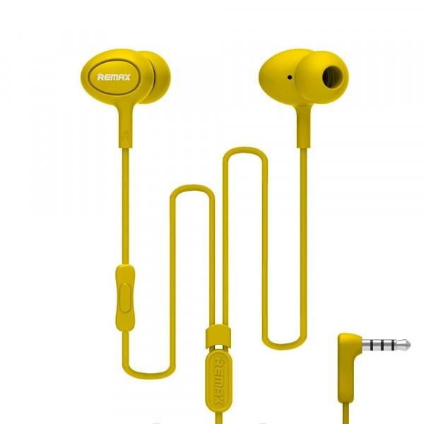 Remax Earphone RM-515 Yellow