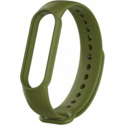 Λουράκι Σιλικόνης Mi Band 5 Army Green