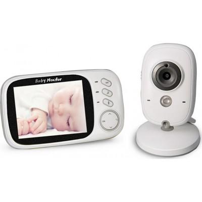 Ενδοεπικοινωνία Μωρού Με Κάμερα & Ήχο VB603