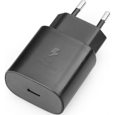 Samsung USB-C Wall Adapter Μαύρο (EP-TA800EB) bulk