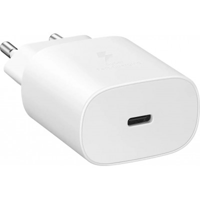 Samsung USB-C Wall Adapter Λευκό (Fast Travel Charger 25W)