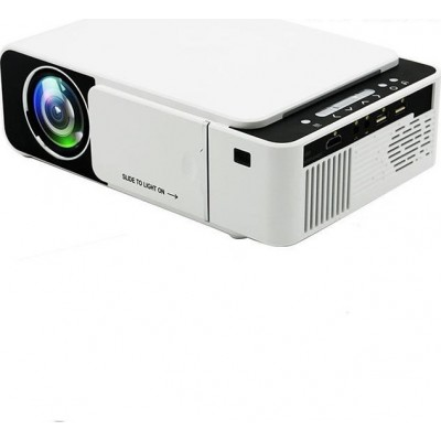T5 Mini Led Portable HD Multimedia Home Theater Video Projector 1080P 2500 Lumens