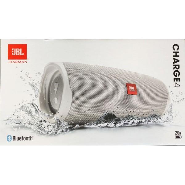 JBL Charge 4 Αδιάβροχο Ηχείο Bluetooth 30W White