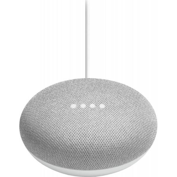 Google Nest Mini (2nd Gen) Chalk GA00638 (Με αντάπτορα)