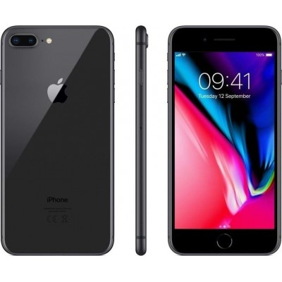Apple iPhone 8 Plus 3GB/256GB Space Gray Εκθεσιακό