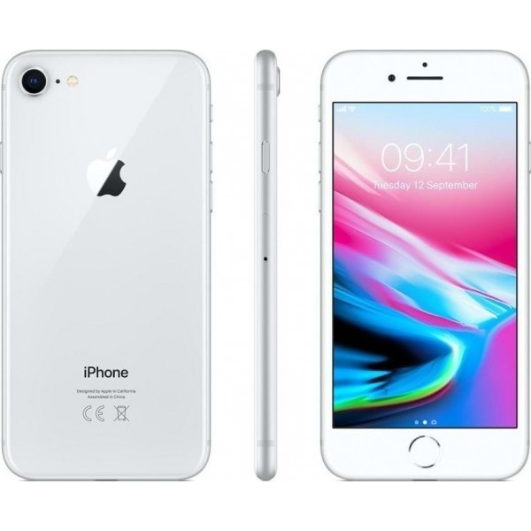 Apple iPhone 8 2GB/64GB Silver Εκθεσιακό