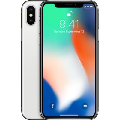 Apple iPhone X 3GB/64GB Silver  Εκθεσιακό