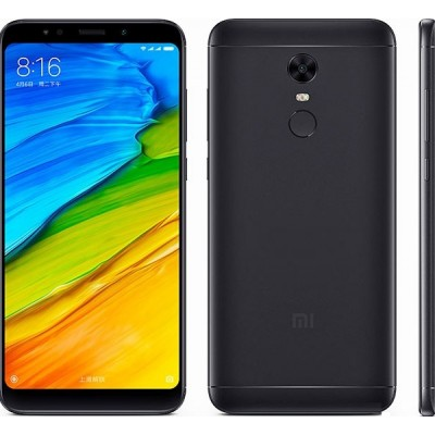 Xiaomi Redmi 5 Plus (4GB/64GB) Dual Sim (Ελληνικό menu-Global Version) Black EU