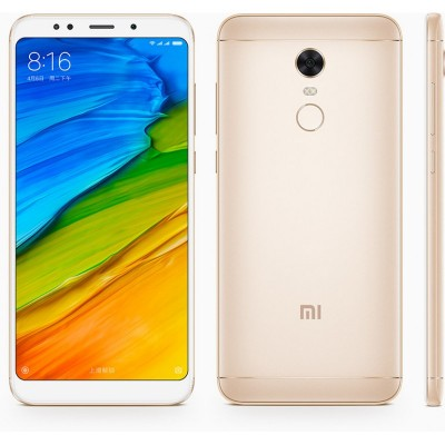 Xiaomi Redmi 5 Plus (4GB/64GB) Dual Sim (Ελληνικό menu-Global Version) Gold EU