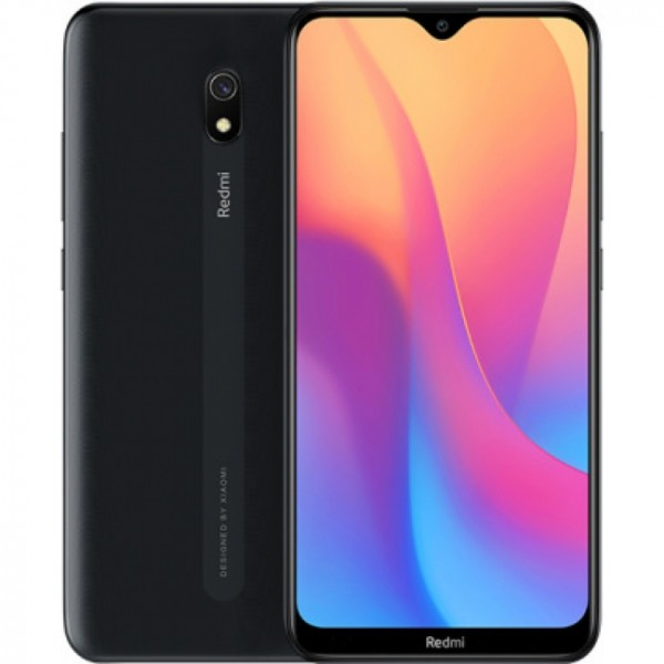 Xiaomi Redmi 8A (Snapdragon) 32GB Dual SIM (Ελληνικό menu-Global Version) Midnight Black EU
