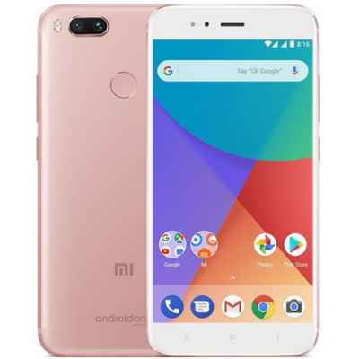 Xiaomi Mi A1 3GB/32GB (2017) Dual Sim (Ελληνικό menu-Global Version) Rose Gold EU