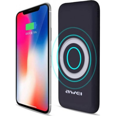 Awei Power Bank Wireless Charging P58K 12000mAh