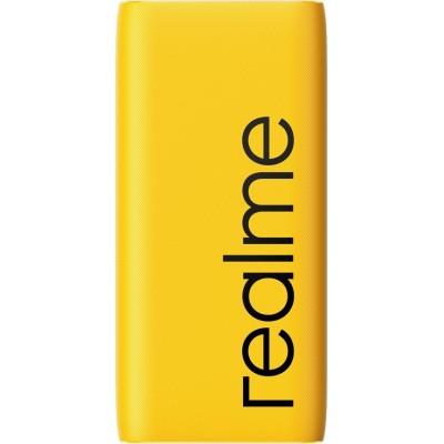Realme Power Bank 2 10000mAh 18W με Γρήγορη Φόρτιση και USB-C  Yellow