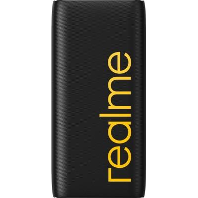 Realme Power Bank 2 10000mAh 18W με Γρήγορη Φόρτιση και USB-C Black