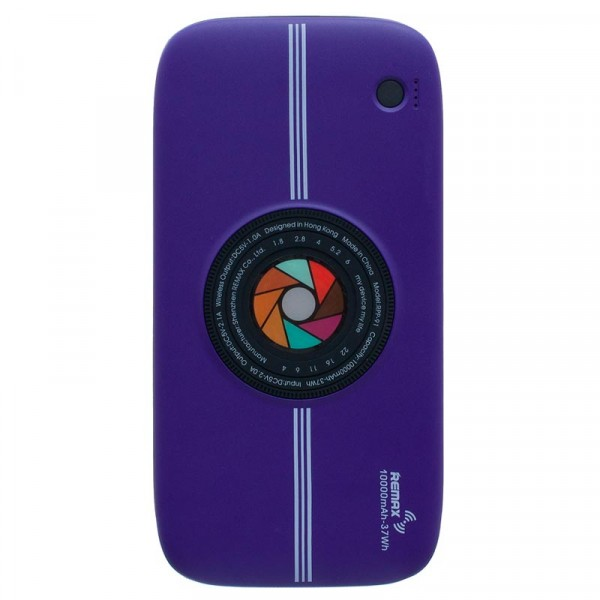 Remax Wireless Power Bank RPP-91 Fast Charge 10000mAh Purple