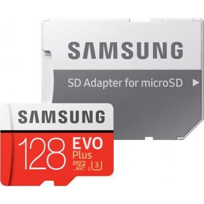 Samsung Evo Plus microSDXC 128GB U3 with Adapter (2020)