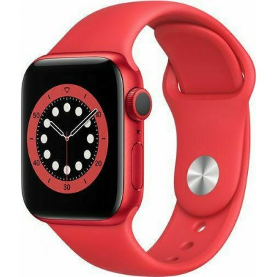 Apple Watch Series 6 Aluminium 44mm (Product) Red