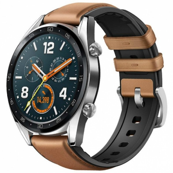 Huawei Watch GT Classic Brown Leather Band