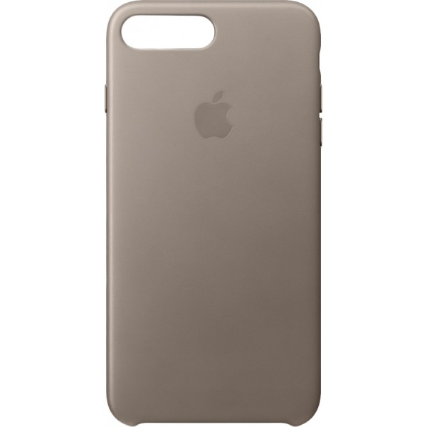 Apple Leather Case Taupe (iPhone 7/8 Plus)
