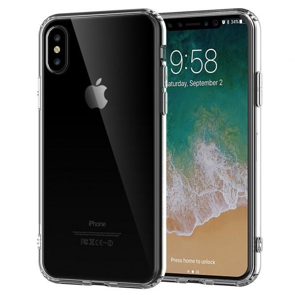 Case TPU Clear για iPhone X