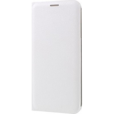 Case Flip Cover White για Samsung A3 2017