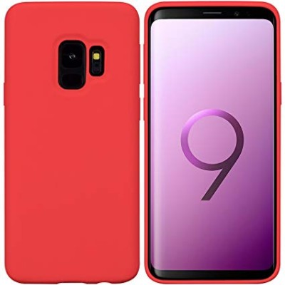 Premium Silicone Case Red Galaxy S9