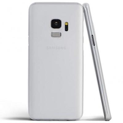 Premium Silicone Case White S9